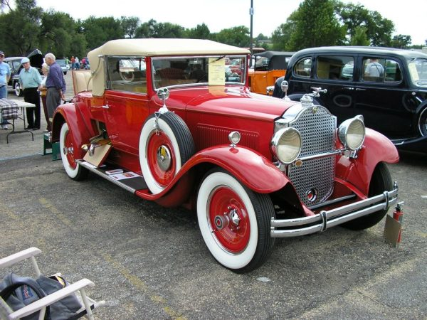 1930 Packard 733 Convertible Coupe.